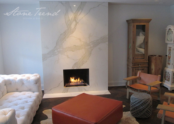stone trend home renovation project