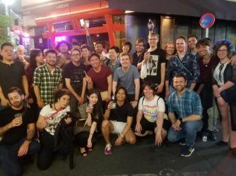 2017 Stonewall Japan Bar Crawl, Saturday night