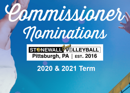 Sand Volleyball Commissioner Nominations