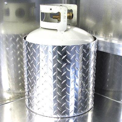 20 lb propane tank holder