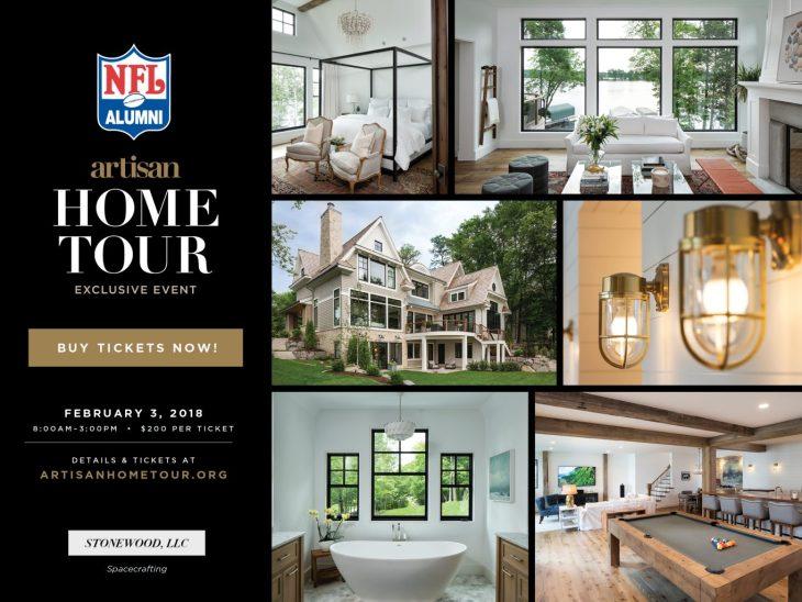 NFL Alumni Artisan Home Tour