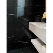 Nero Marquina Porcelain Marble Tile - Stonewood