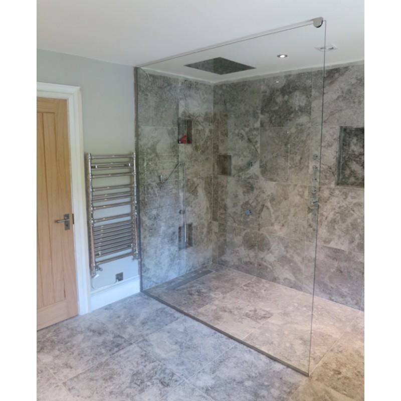 Buy 10mm Wet room Glass Shower Screen