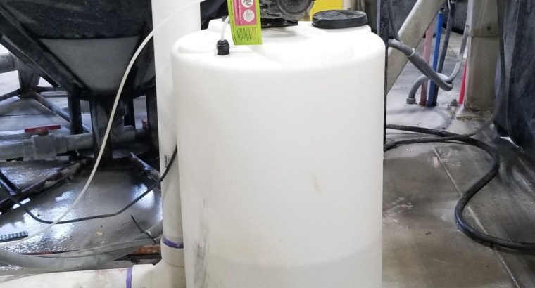 120/Gal Ebbco Water Filtration System
