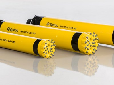 Epiroc introduces fast new DTH hammers