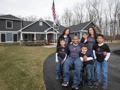 Natural Stone Institute Completes 26th Home with Gary Sinise Foundation