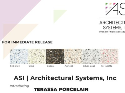 Architectural Systems Introduces Terassa Porcelain