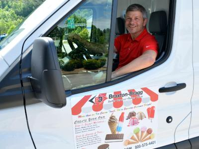 Braxton-Bragg Brings Some Fun to Customers With Ice Cream Throughout June