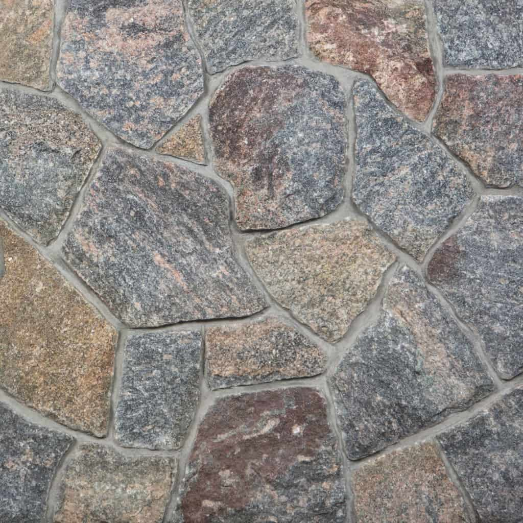 Mosaik Granit Vineyard Granite Mosaic Thin Veneer Stoneyard