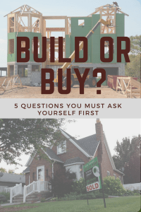 build or buy your dream home
