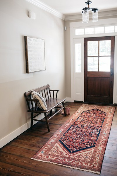 small foyer no wasted space