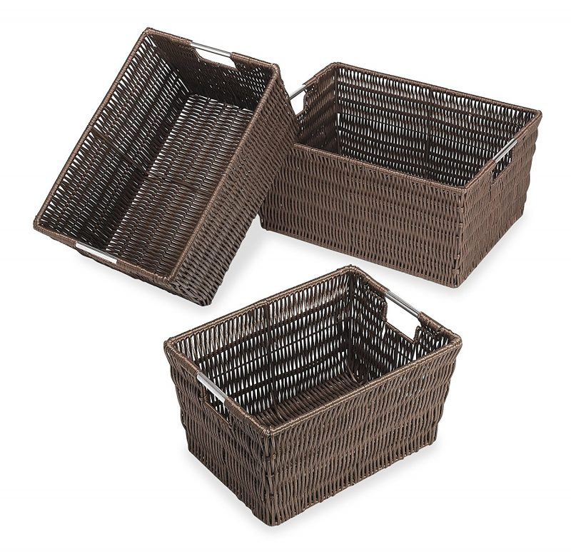 Mudroom baskets