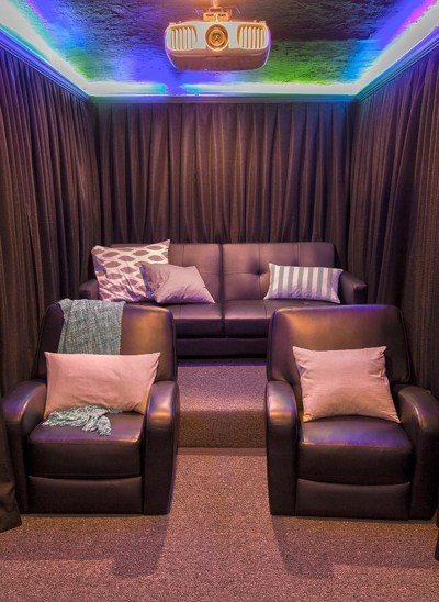 home theater no wasted space