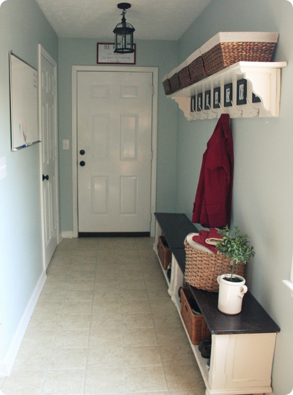 Narrow Mudroom