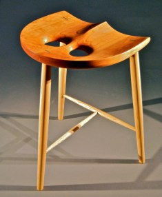 The owl stool by Geoffrey Warner Studio