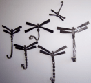 Exquisite dragonflies made by Herman Kidder