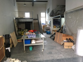 Packing up the Songzhuang studio (May 2019)