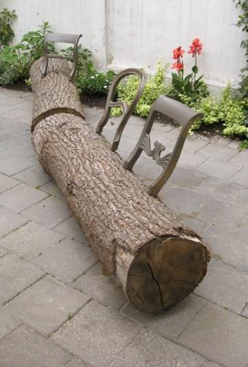Tree-Trunk Bench 1