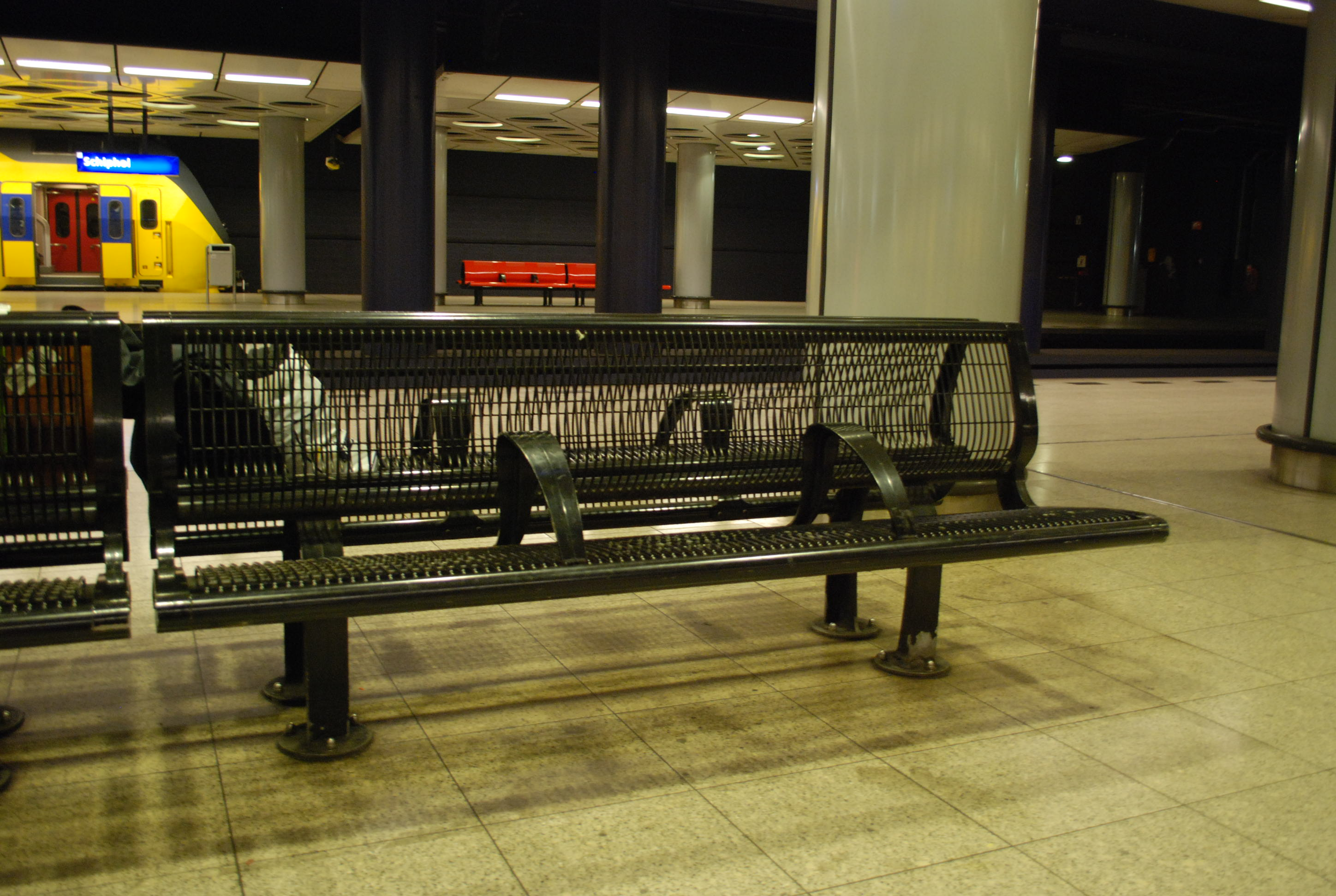Amsterdam Airport and Train Station Seating  StoolSampler