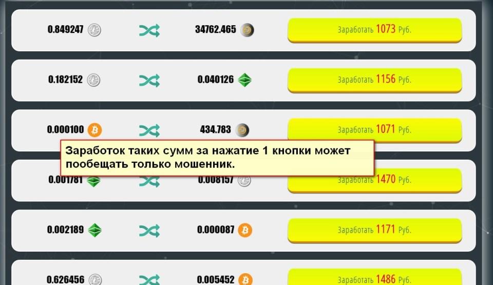 Crypto Exchanger, Сервис Мгновенных Обменов Криптовалют
