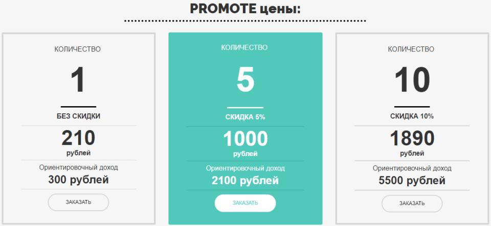Сервис PROMOTE, Promote-ключи, независимый портал по осуществлению финансовых сделок