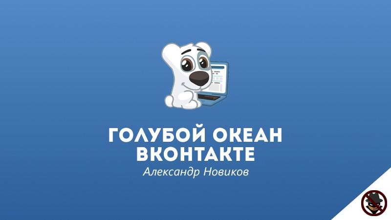 Голубой Океан Вконтакте, Александр Новиков, лучшие курсы по заработку 2018
