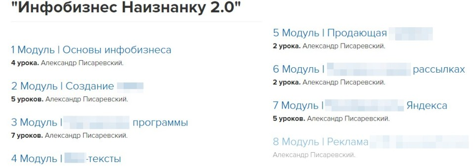 Инфобизнес Наизнанку 2.0, Инкубатор Инфобизнеса, Александр Писаревский