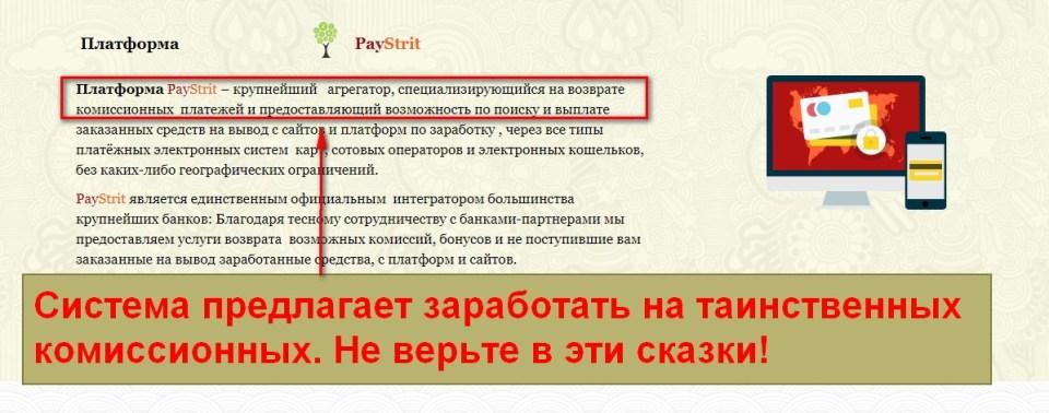 PayStrit, агрегатор возврата денежных средств, Форум Александра Мальцева