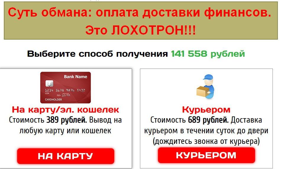 Exnat, каталог выплат