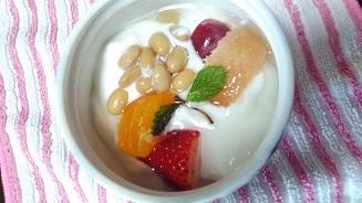 蒸し大豆レシピ