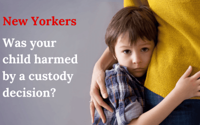 Was your child harmed by a custody decision?
