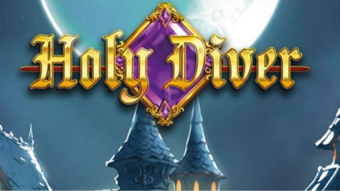 holy-diver-slot-logo