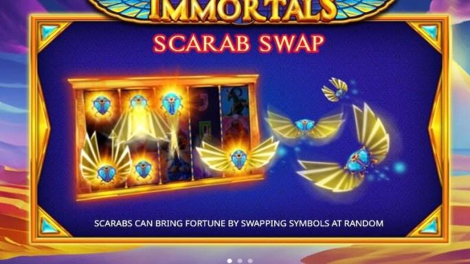 book of immortals slot rules
