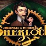 sherlock-a-scandal-in-bohemia-slot-logo