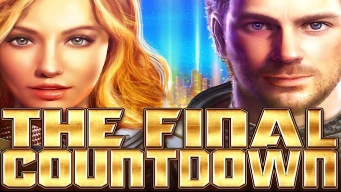 the final countdown slot logo