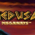 medusa megaways slot logo