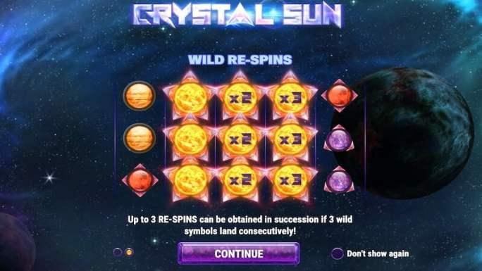 crystal sun slot rules