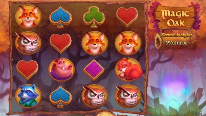 magic oak slot gameplay