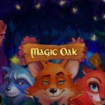 magic oak slot logo