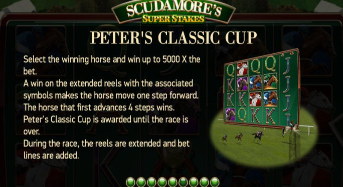 scudamores super stakes slot rules