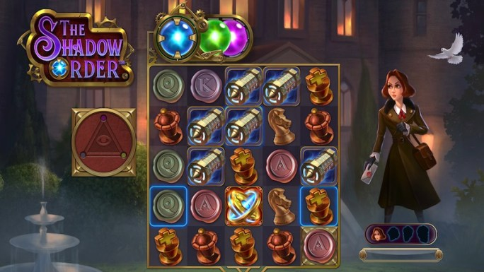 the shadow order slot gameplay