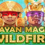 mayan magic wildfire slot logo