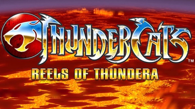 thundercats reels of thundera slot logo