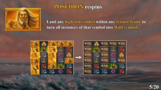 ages of the gods ruler of the seas slot rules