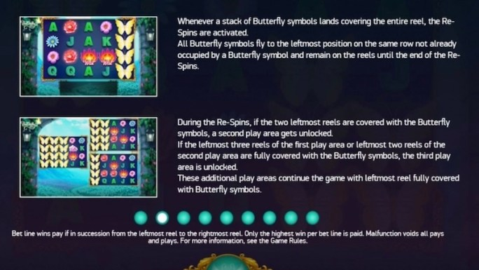 butterfly staxx 2 slot rules