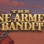 the one armed bandit slot logo