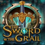 the sword and the grail slot logo