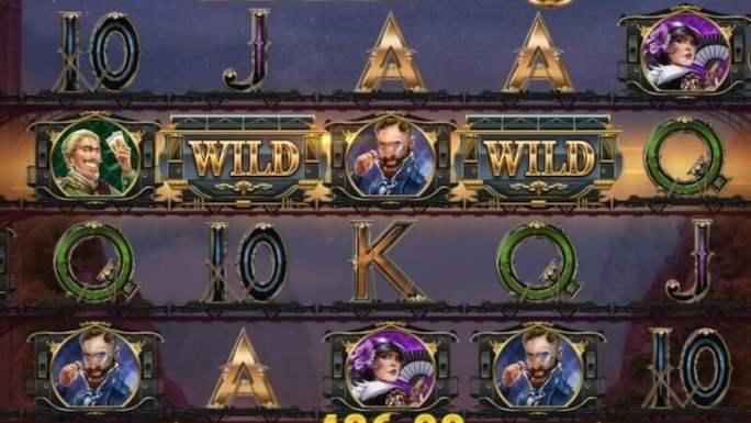 wild rails slot gameplay