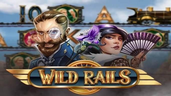 wild rails slot logo
