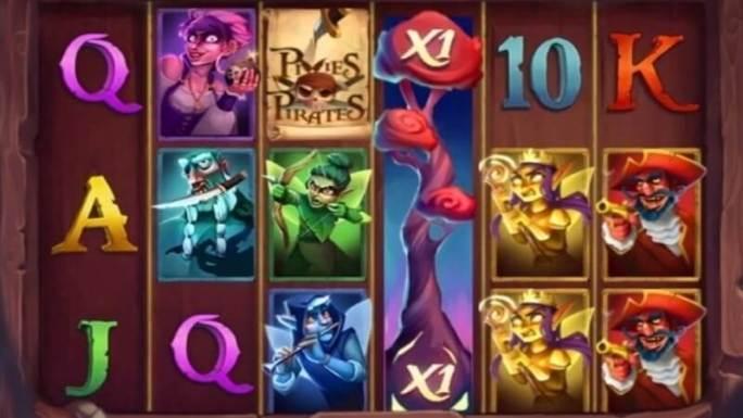 pixies vs pirates slot gameplay